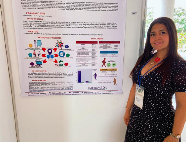 Grupo de Medicina GINUMED presente en el XVII Congreso de Parasitología y Medicina Tropical