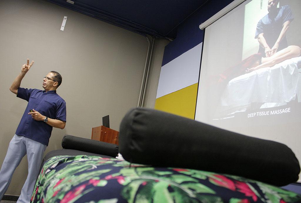 Curso de Técnicas Terapéuticas Manuales para el bienestar general