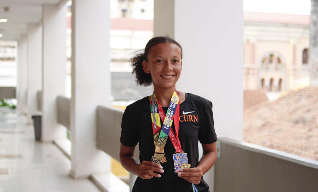 Sofía Pacheco, Deportista y Orgullo Nuñista