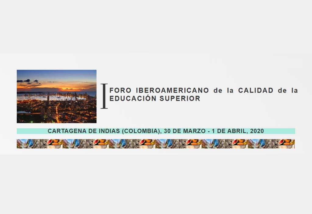 Cartagena recibirá el Primer Foro Iberoamericano de la Calidad de la Educación Superior