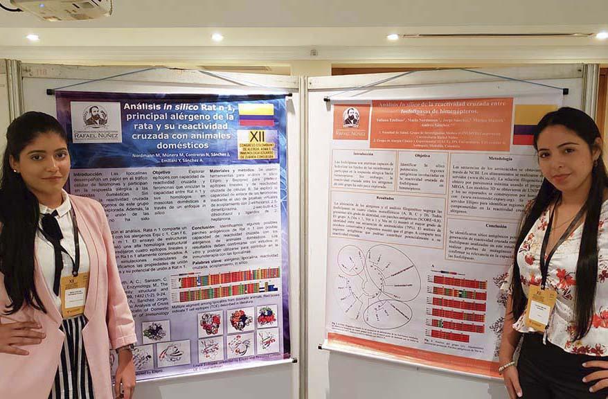 Grupo GINUMED presenta investigaciones en el XII Congreso Nacional de Alergia Asma e Inmunología