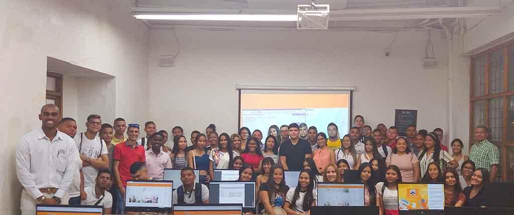 Inducción estudiantes Derecho Cartagena 2020-01