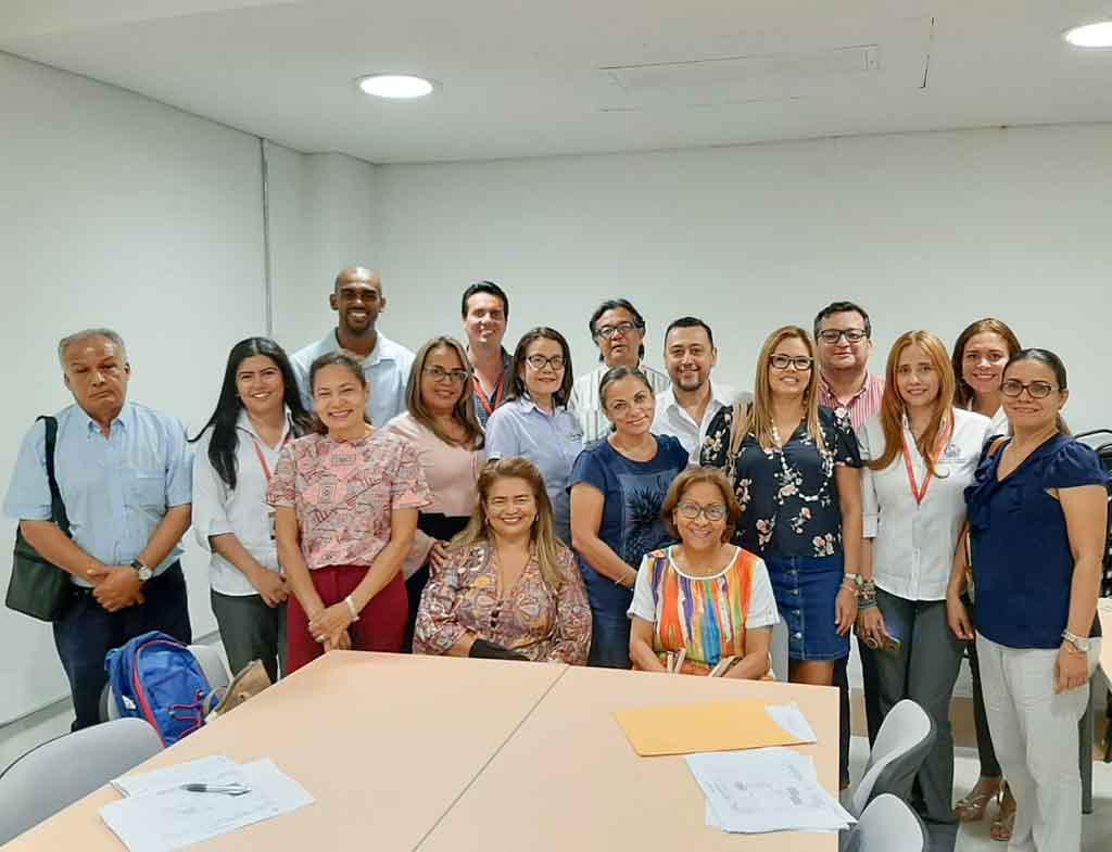 Inducción docente programa de Derecho Cartagena