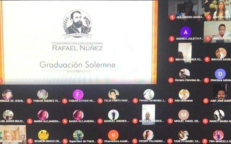 Corporación Universitaria Rafael Núñez graduó anticipadamente a 43 médicos ante emergencia sanitaria por Covid-19