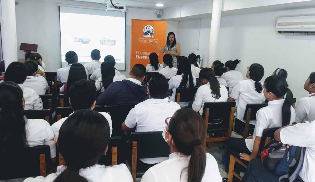 Inducción prácticas formativas estudiantes Enfermería Barranquilla
