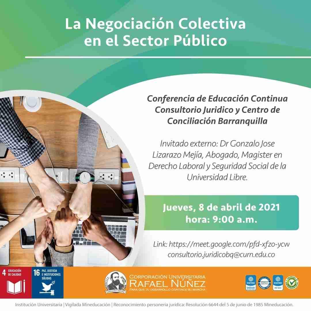 En la CURN se realiza conferencia La negociación colectiva en el sector público y es un éxito.