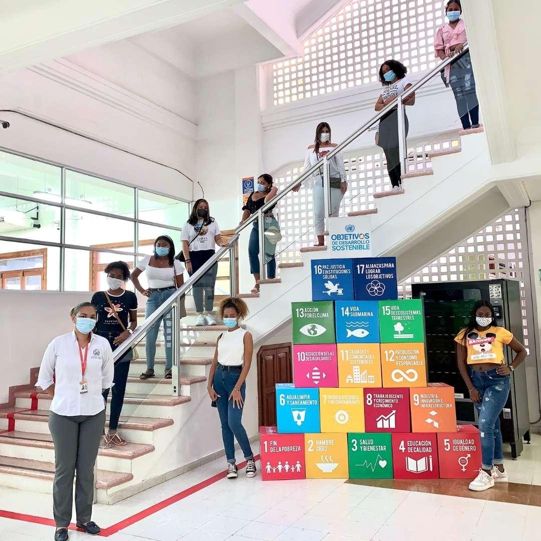 UniNúñez realiza jornada voluntaria de inducción presencial para conocer las sedes de Cartagena y Barranquilla