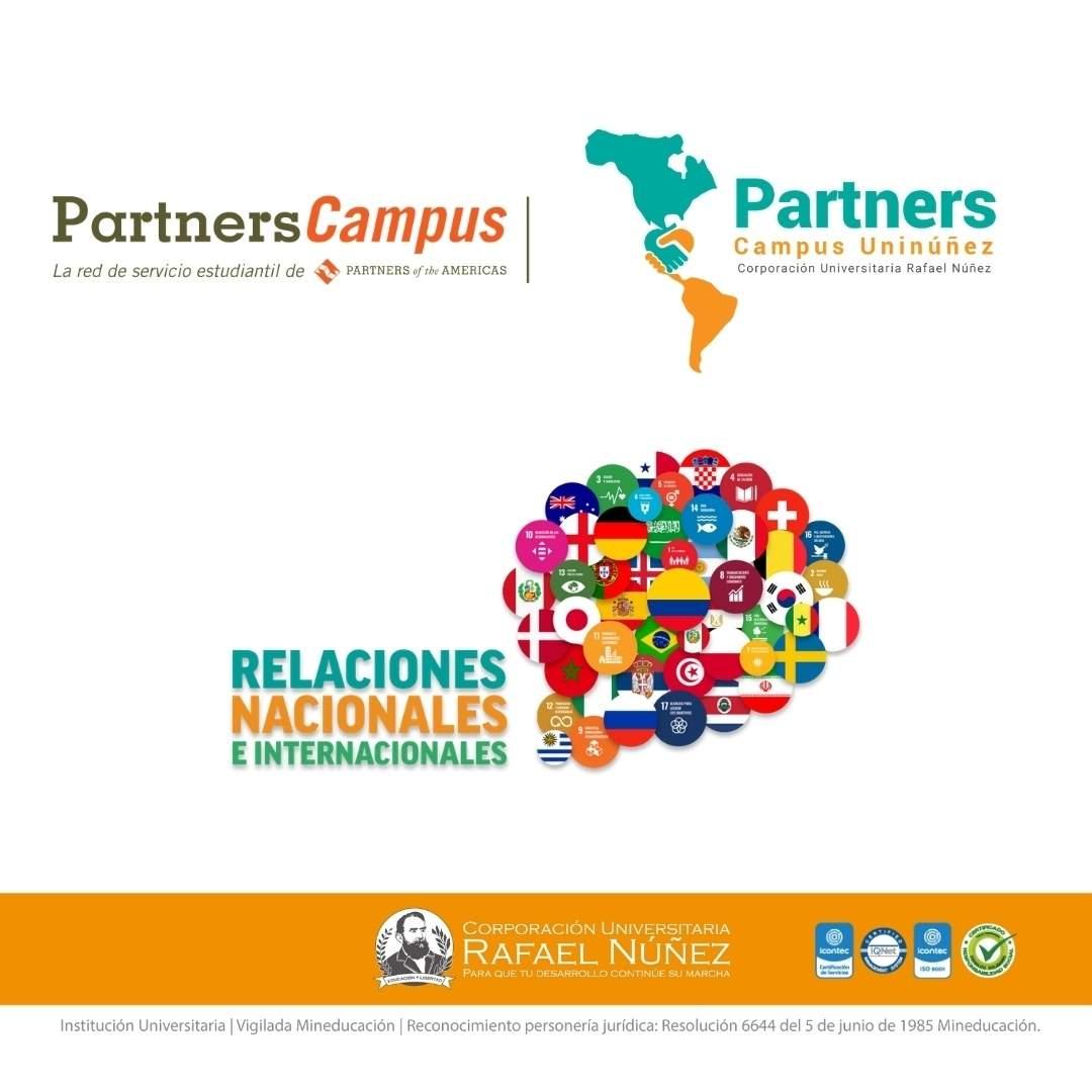 Los Programas de Administración de Empresas y Trabajo Social Campus Cartagena a través de la Dirección de Relaciones Nacionales e Internacionales gana convocatoria de Small Grants de Partners of the Americas.