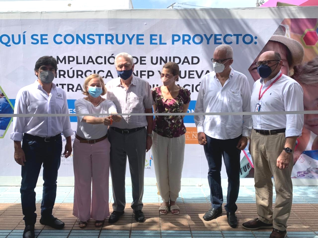 Se da inicio a la construcción de la nueva Unidad Quirúrgica en el Hospital – CASA DEL NIÑO – en alianza con la UniNúñez