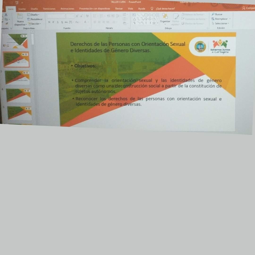 La CURN Cartagena realiza conferencia encaminada en el respeto de la diversidad. En Cartagena de Indias, el 23 de abril de 2021, el Consultorio Jurídico y Centro de Conciliación de la Corporación Universitaria Rafael Núñez, y desde de la sede de la ciudad