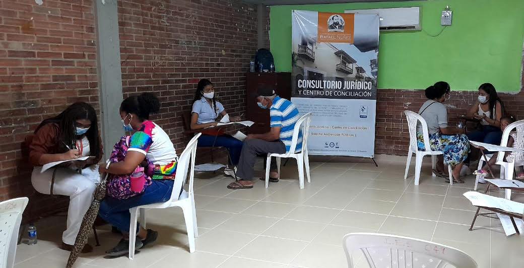 Estudiantes en práctica de la CURN desarrollan jornada gratuita de convivencia en Nelson Mandela