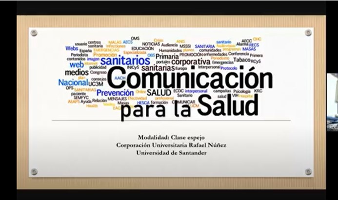 Programa de Bacteriología de la Uninúñez realiza Clase Espejo con la Universidad de Santander.