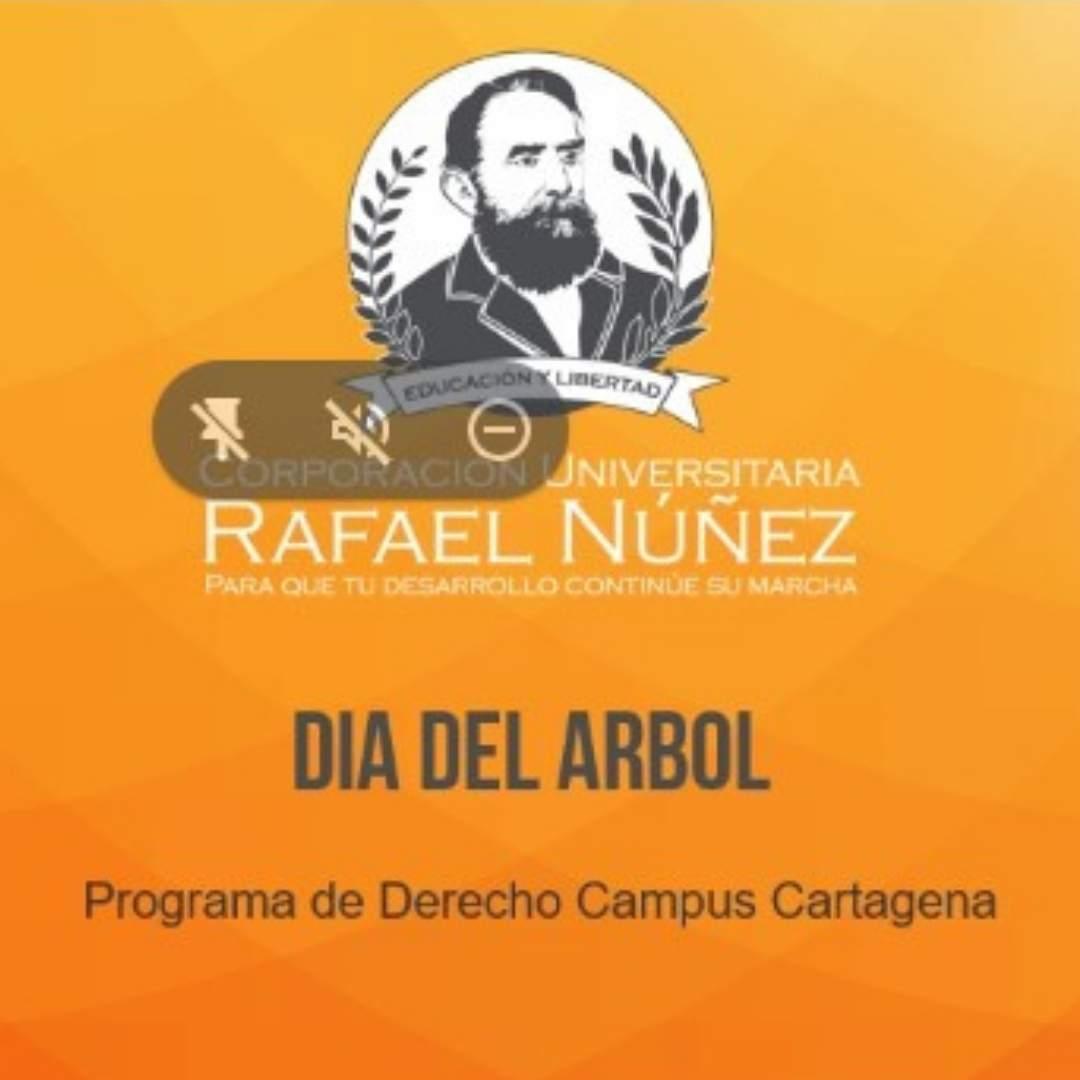 Uninúnez Cartagena desde su programa de Derecho realiza charla de concietización ambiental en el marco del Día del Arbol.