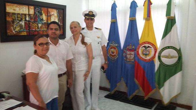 Uninúñez firma convenio de cooperación académica con la Armada Nacional