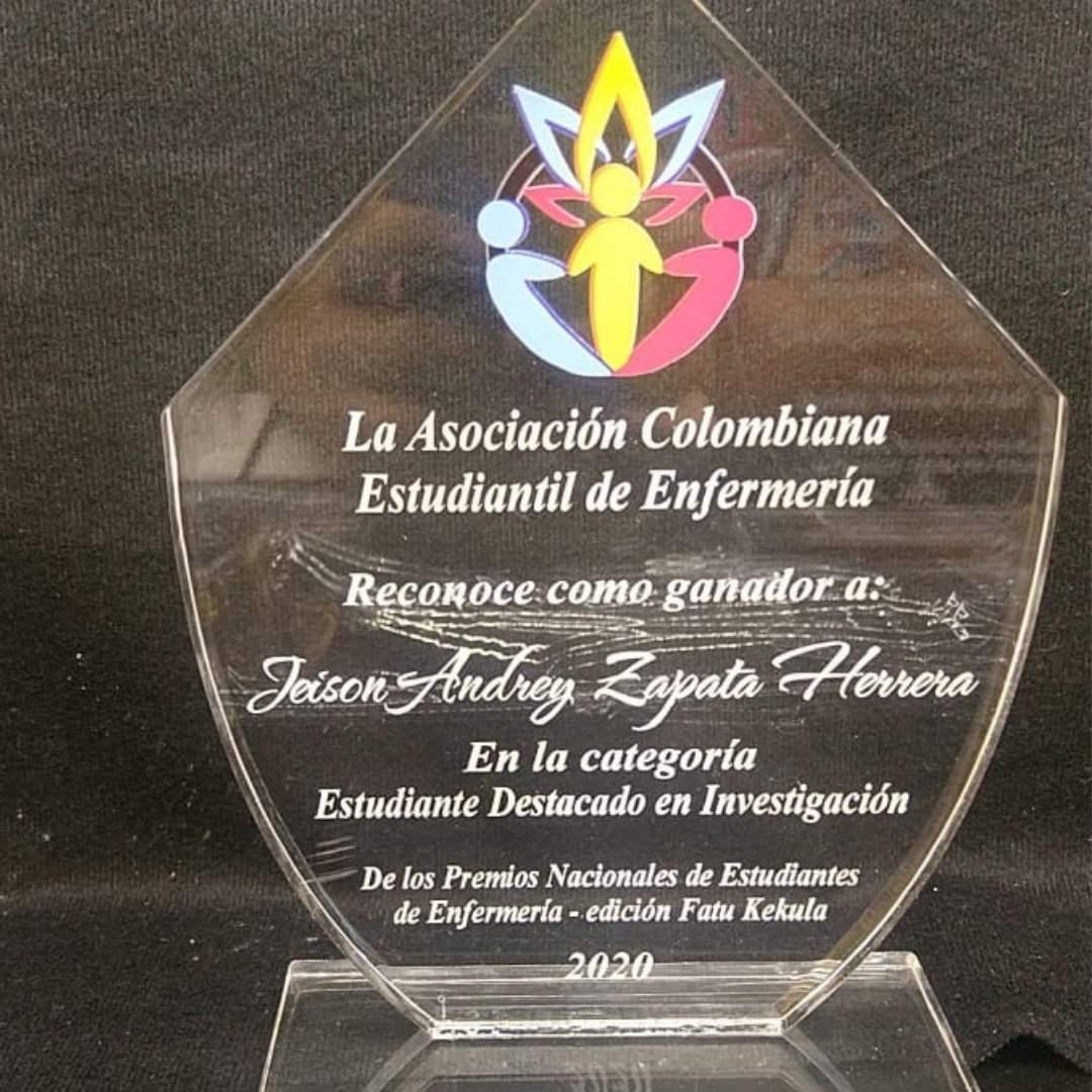 Estudiante del programa de Enfermería Campus Barranquilla gana reconocimiento por parte de la Asociación Colombiana Estudiantil de Enfermería.