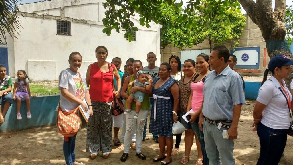 Uninúñez realiza brigada interdisciplinaria en el barrio Siape de Barranquilla