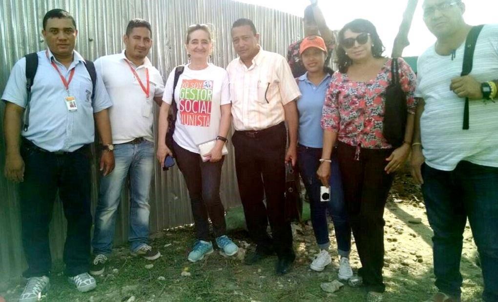 Jornada de Proyección Social en el barrio Siape en Barranquilla