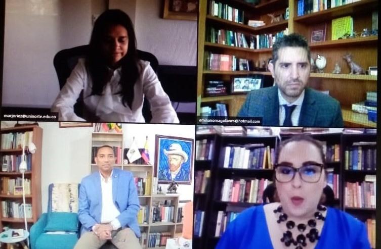 La Núñez realiza foro Internacional con dos expertos juristas en el tema de género, y tiene una masiva asistencia virtual.