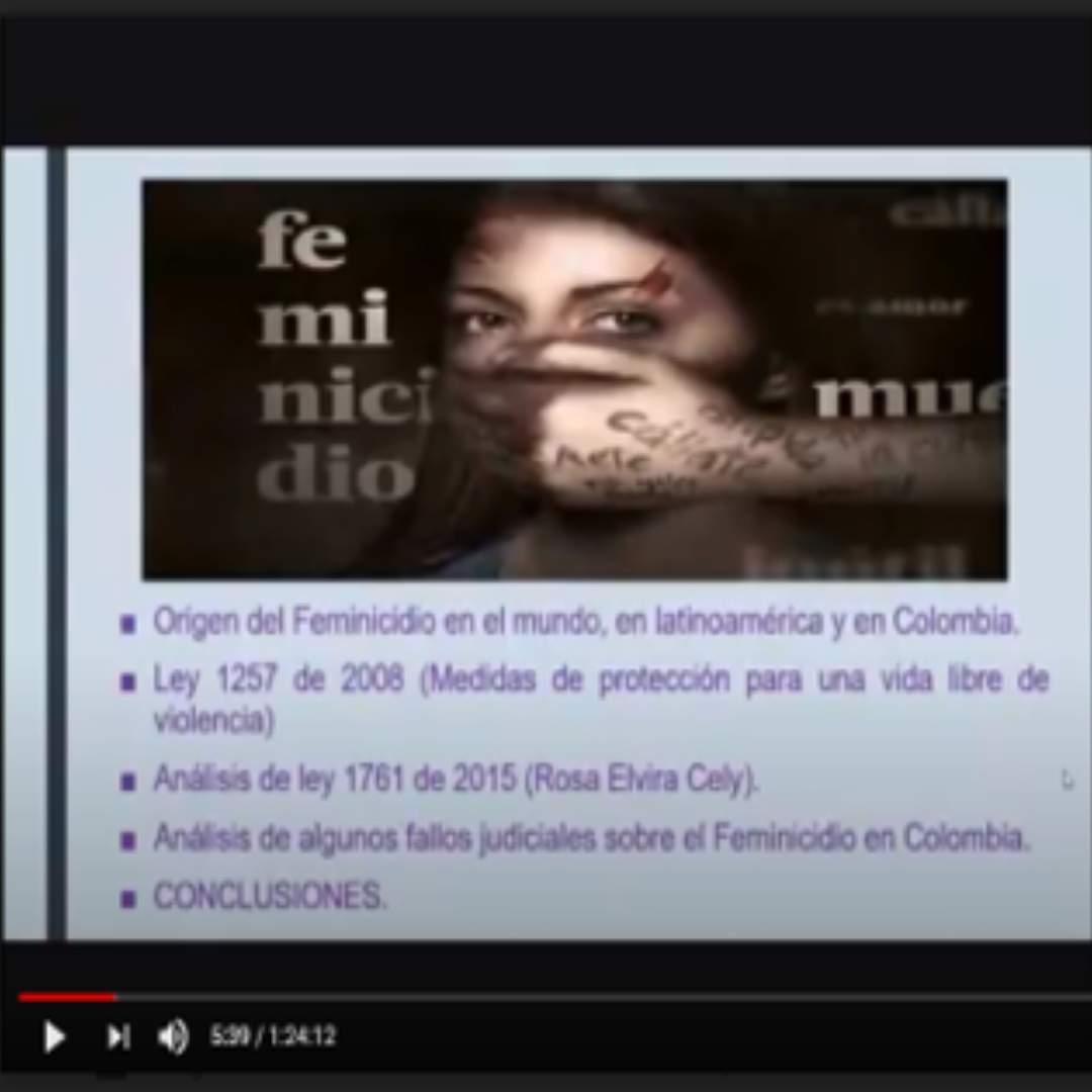 Docente Margarett Hernandez del Programa Derecho Campus Cartagena impartió webinar