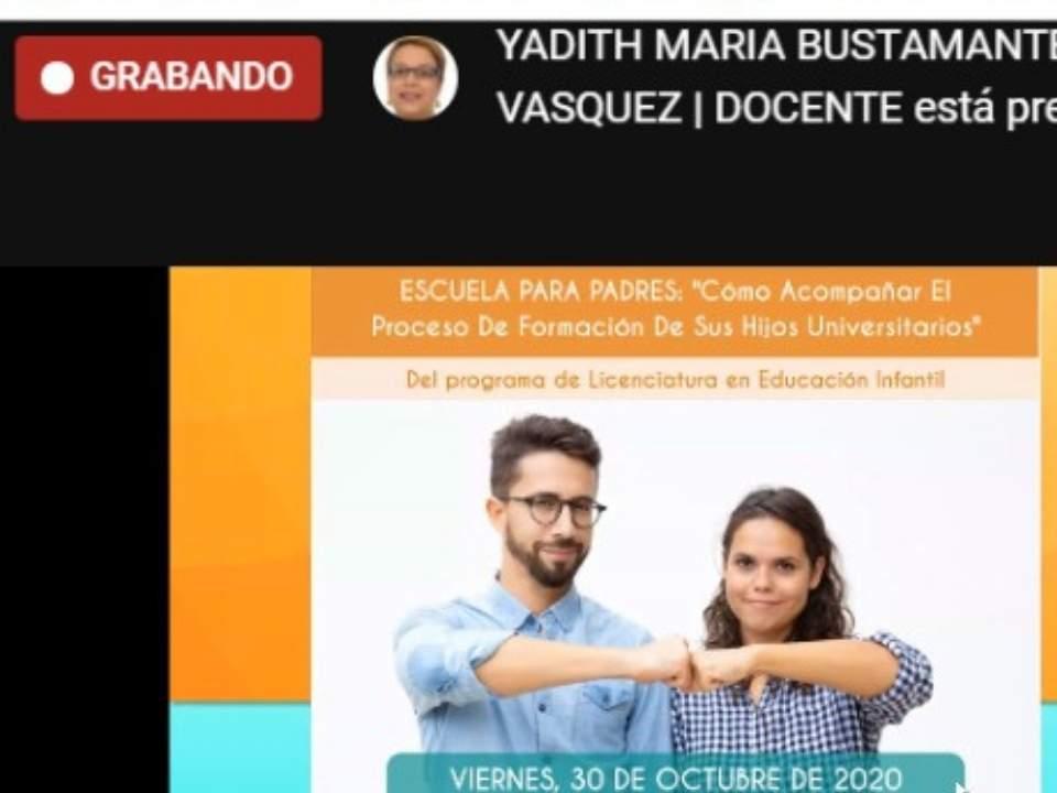 Se realiza virtualmente en la Núñez la Escuela Para Padres: