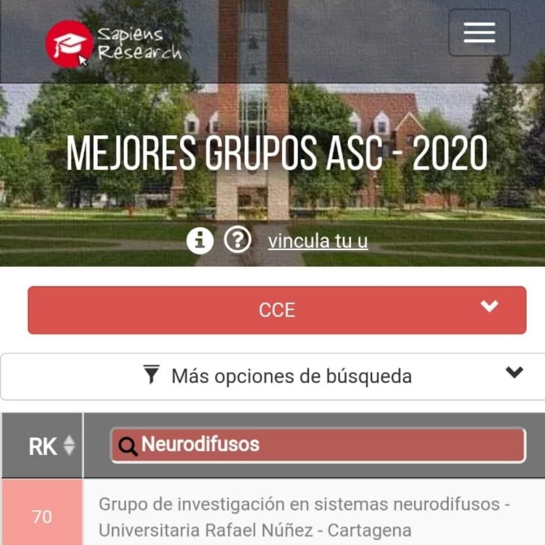 Grupo de investigación de la Núñez es destacado por firma consultora a nivel internacional.