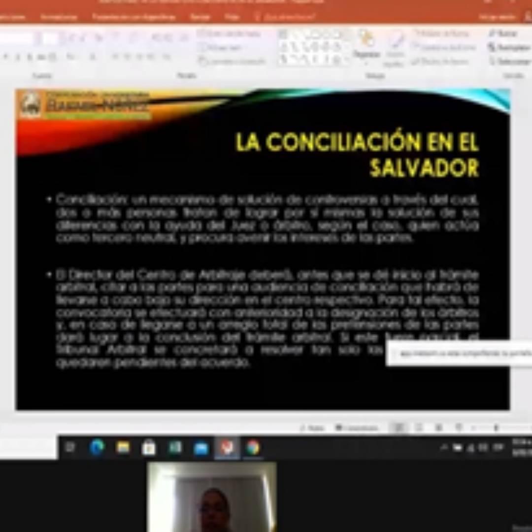 """La CURN realiza ponencia """"La mediación como método alterno de resolución de conflictos""""."""