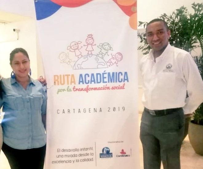 Docentes de la CURN participaron de la Ruta Académica por la Transformación Social.