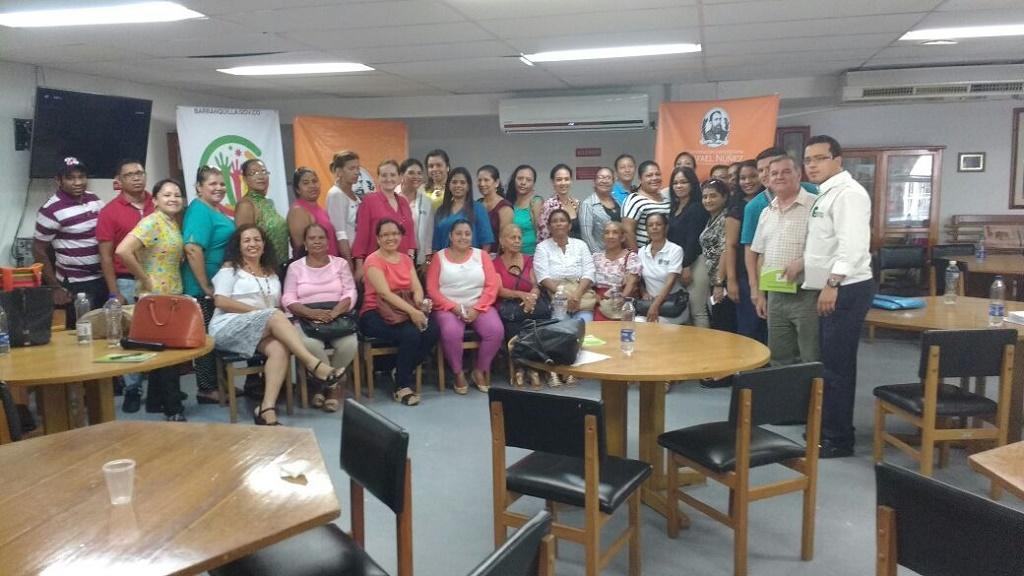 Con éxito se realiza I Encuentro de Comunidad Saludable en Uninúñez campus Barranquilla