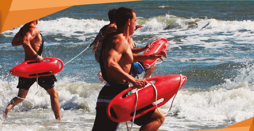 Entrenamiento para personal en busqueda y salvamento acuático