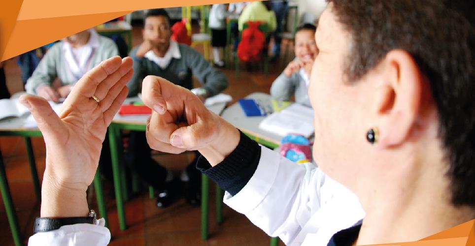 Educación para la inclusión de ciegos y sordos