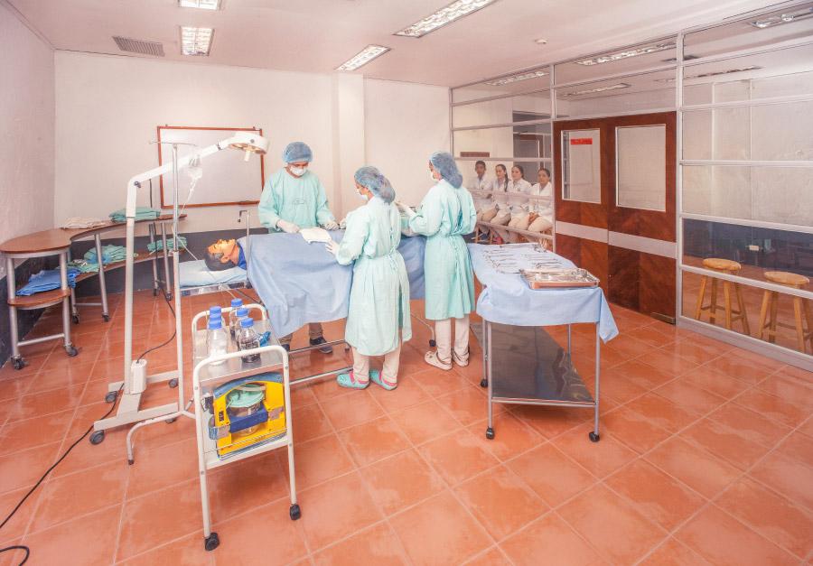 Laboratorios de Morfofisiopatología y Simulación Clínica